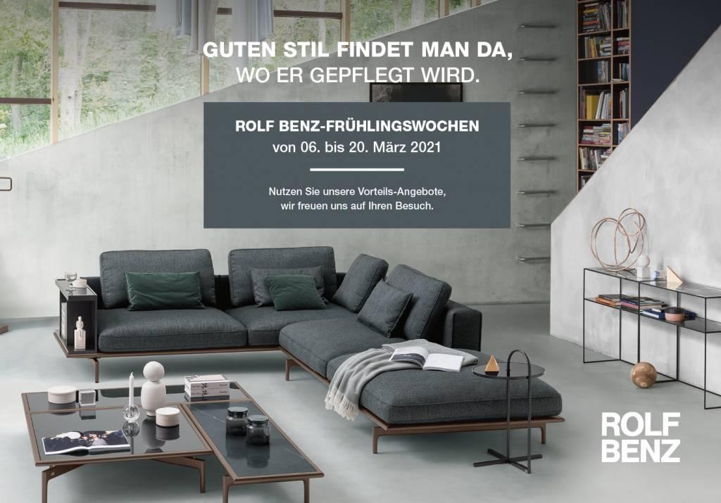Winter - die Einrichter, Rolf Benz Fruehlingswochen